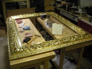 "New ""Titian-style"" frame by Richard Ford, unpainted"