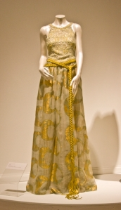 Fire collection, 2000; silk organza, hand-painted; embroidery; and beading
