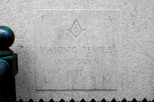 NMWA's cornerstone, laid by President Theodore Roosevelt.
