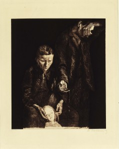 The Downtrodden, 1900; Etching and aquatint on paper, 12 1/8 x 9 3/4 in. Gift of Wallace and Wilhelmina Holladay © 2002 Artists Rights Society (ARS)/VG Bild-Kunst, Bonn