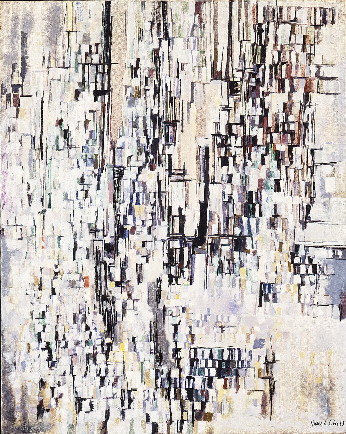 Thus did Maria Elena Vieira da Silva explains her approach to her art,