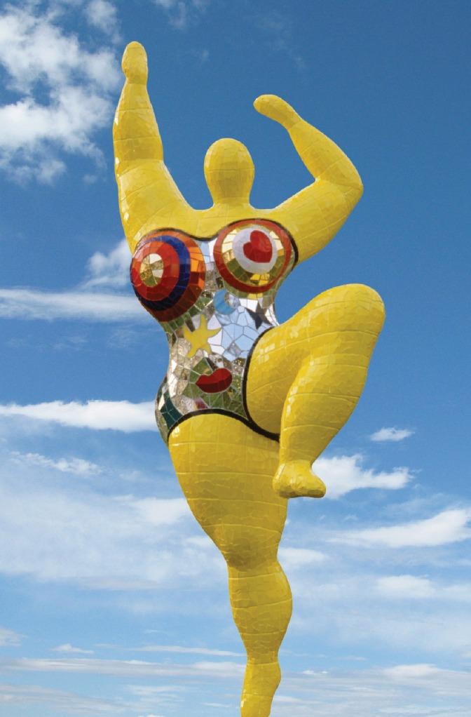 Niki de Saint Phalle's Nana figure