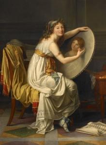 Rose Adélaïde Ducreux (1762-1802), Portrait of the Artist, ca. 1799. Oil on canvas. Musée des beaux-arts, Rouen