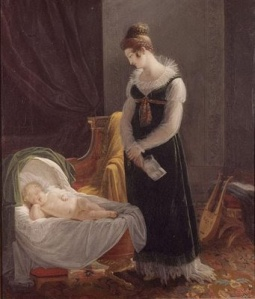 Louise Marie Jeanne Hersent, The Good Mother, ca. 1815; Oil on canvas; Château-Musée de Dieppe