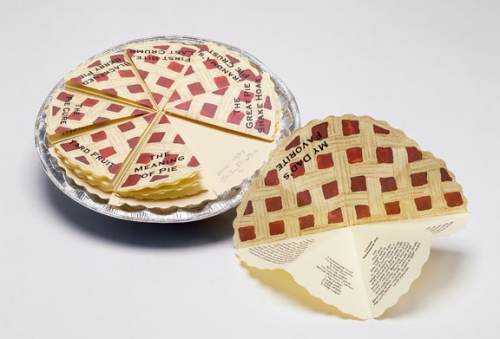 Emily Martin, Eight Slices of Pie, 2002