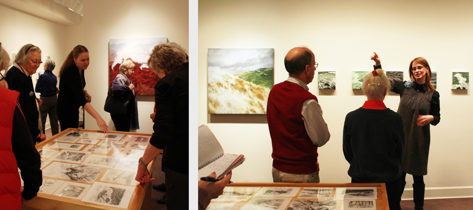 NMWA curators lead tours of Freya Grand: Minding the Landscape