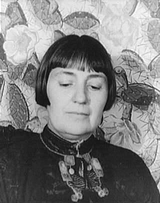 Mabel Dodge Luhan, portrait by Carl Van Vechten, 1934
