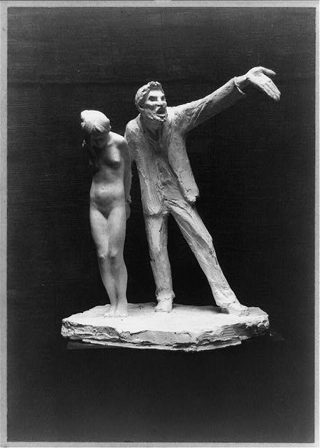 Abastenia Eberle, The White Slave, shown in the 1913 Armory Show