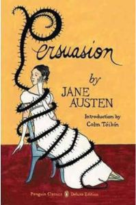 "Book cover for Jane Austen's ""Persuasion,"" for Penguin; Ink and gouache on Bristol board; Courtesy of the artist"