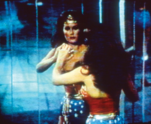 Dara Birnbaum, Technology/Transformation: Wonder Woman, 1978–79; Single-channel color video and stereo sound, 5 min. 50 sec.; National Museum of Women in the Arts, Gift of Elizabeth A. Sackler