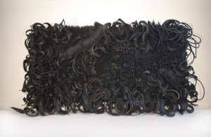 Chakaia Booker, Acid Rain, 2001; Museum purchase: Members' Acquisition Fund