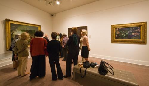Volunteers have the opportunity to learn in-depth information about NMWA's collection and exhibitions