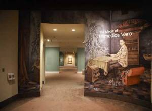 "The entrance to NMWA's 2000 exhibition ""The Magic of Remedios Varo"""