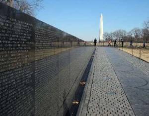 Maya Lin's Vietnam Veterans' Memorial, Washington, D.C.