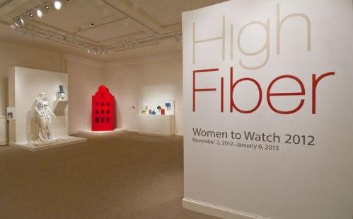 Installation of High Fiber—Women to Watch 2012