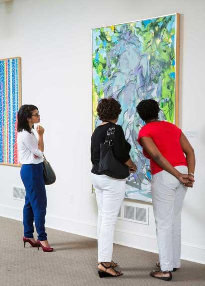 NMWA visitors; Photo by Dakota Fine